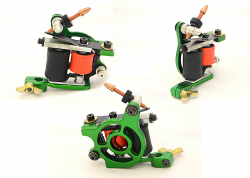 REDLINE SHADER GREEN FK TATTOO MACHINE