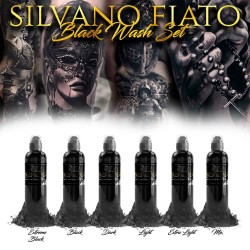4 OZ SILVANO FIATO BLACK WASH SET