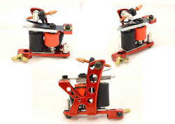 REDLINE SHADER RED FK TATTOO MACHINE
